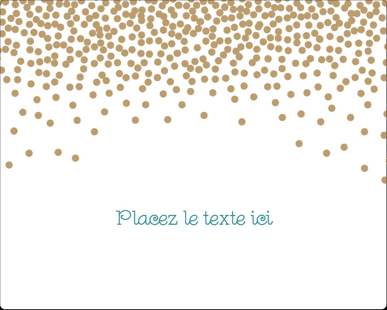 Lumières dorées Étiquettes rectangulaires - gabarit prédéfini. <br/>Utilisez notre logiciel Avery Design & Print Online pour personnaliser facilement la conception.
