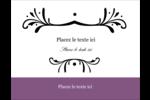 Filigrane violet Carte Postale - gabarit prédéfini. <br/>Utilisez notre logiciel Avery Design & Print Online pour personnaliser facilement la conception.