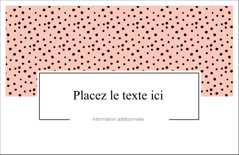 """8½"""" x 11"""" Cartes Et Articles D'Artisanat Imprimables - Jolis pois"""