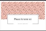 Jolis pois Cartes Et Articles D'Artisanat Imprimables - gabarit prédéfini. <br/>Utilisez notre logiciel Avery Design & Print Online pour personnaliser facilement la conception.