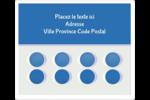 4e étage  Étiquettes D'Adresse - gabarit prédéfini. <br/>Utilisez notre logiciel Avery Design & Print Online pour personnaliser facilement la conception.