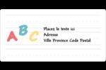 Enseignement préscolaire Étiquettes de classement écologiques - gabarit prédéfini. <br/>Utilisez notre logiciel Avery Design & Print Online pour personnaliser facilement la conception.