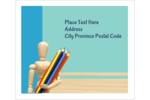 Customize personal or professional projects with predesigned Education Arts templates.