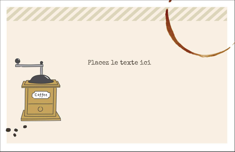 """8½"""" x 11"""" Cartes Et Articles D'Artisanat Imprimables - L'heure du café"""