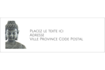 Bouddha Intercalaires / Onglets - gabarit prédéfini. <br/>Utilisez notre logiciel Avery Design & Print Online pour personnaliser facilement la conception.