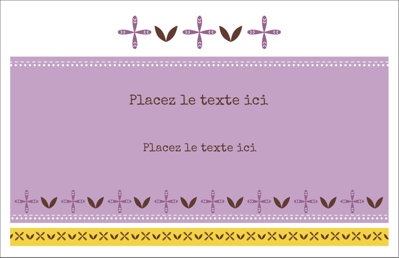 """8½"""" x 11"""" Cartes Et Articles D'Artisanat Imprimables - Lavande géométrique"""