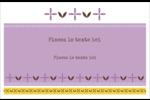 Lavande géométrique Cartes Et Articles D'Artisanat Imprimables - gabarit prédéfini. <br/>Utilisez notre logiciel Avery Design & Print Online pour personnaliser facilement la conception.