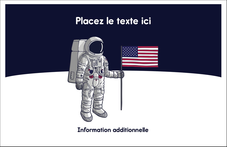 """8½"""" x 11"""" Cartes Et Articles D'Artisanat Imprimables - Astronaute"""