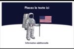 Astronaute Cartes Et Articles D'Artisanat Imprimables - gabarit prédéfini. <br/>Utilisez notre logiciel Avery Design & Print Online pour personnaliser facilement la conception.