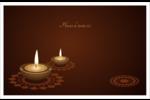 Lumières Divali Cartes Et Articles D'Artisanat Imprimables - gabarit prédéfini. <br/>Utilisez notre logiciel Avery Design & Print Online pour personnaliser facilement la conception.