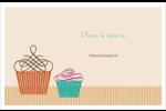 Petit gâteau Cartes Et Articles D'Artisanat Imprimables - gabarit prédéfini. <br/>Utilisez notre logiciel Avery Design & Print Online pour personnaliser facilement la conception.