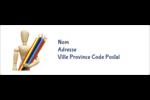 Enseignement des arts Intercalaires / Onglets - gabarit prédéfini. <br/>Utilisez notre logiciel Avery Design & Print Online pour personnaliser facilement la conception.