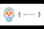 Le jour du Crâne Étiquettes de classement écologiques - gabarit prédéfini. <br/>Utilisez notre logiciel Avery Design & Print Online pour personnaliser facilement la conception.