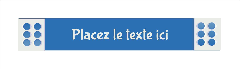 """3½"""" x 11"""" Affichette - 4e étage"""