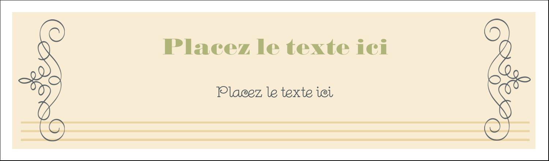 """3½"""" x 11"""" Affichette - Souhaits d'anniversaire"""
