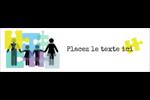 Counseling en éducation Affichette - gabarit prédéfini. <br/>Utilisez notre logiciel Avery Design & Print Online pour personnaliser facilement la conception.