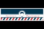 Salon de barbier Affichette - gabarit prédéfini. <br/>Utilisez notre logiciel Avery Design & Print Online pour personnaliser facilement la conception.