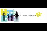 Counseling en éducation Carte de note - gabarit prédéfini. <br/>Utilisez notre logiciel Avery Design & Print Online pour personnaliser facilement la conception.