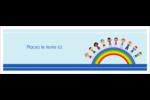 Éducation des enfants Carte de note - gabarit prédéfini. <br/>Utilisez notre logiciel Avery Design & Print Online pour personnaliser facilement la conception.