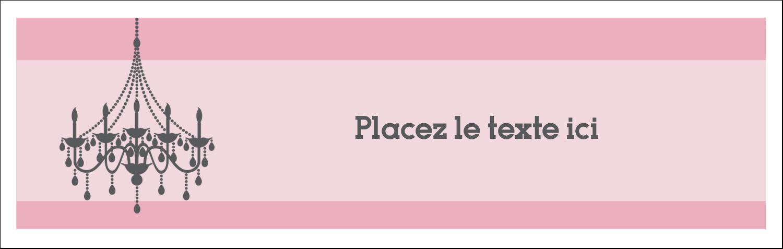 "4¼"" x 5½"" Carte de note - Chandelier"
