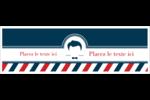 Salon de barbier Carte de note - gabarit prédéfini. <br/>Utilisez notre logiciel Avery Design & Print Online pour personnaliser facilement la conception.