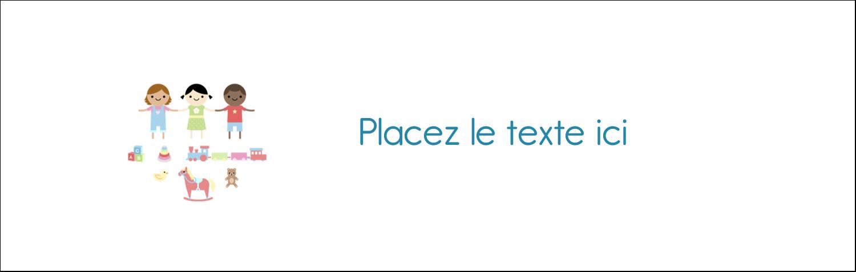 """4¼"""" x 5½"""" Carte de note - Éducation et préscolaire"""