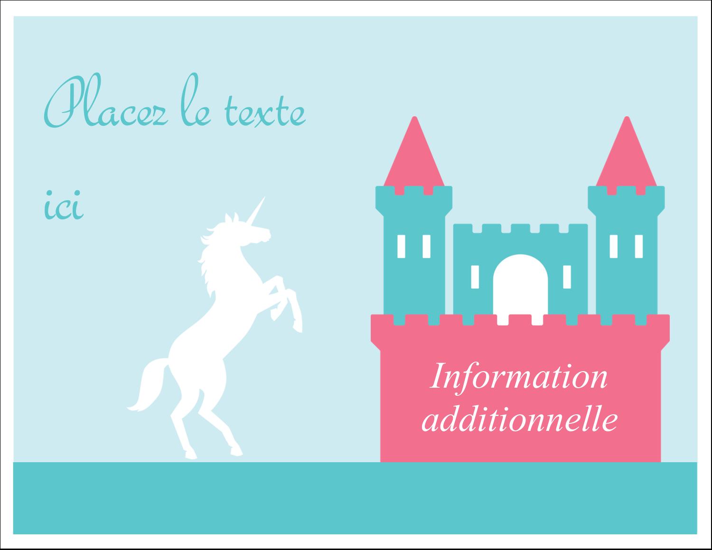 """8½"""" x 11"""" Cartes Et Articles D'Artisanat Imprimables - Château"""