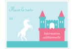Château Cartes Et Articles D'Artisanat Imprimables - gabarit prédéfini. <br/>Utilisez notre logiciel Avery Design & Print Online pour personnaliser facilement la conception.