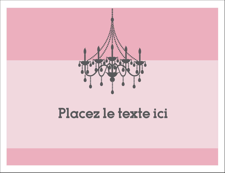 """8½"""" x 11"""" Cartes Et Articles D'Artisanat Imprimables - Chandelier"""