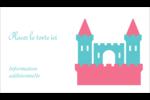 Château Carte d'affaire - gabarit prédéfini. <br/>Utilisez notre logiciel Avery Design & Print Online pour personnaliser facilement la conception.