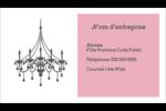 Chandelier Carte d'affaire - gabarit prédéfini. <br/>Utilisez notre logiciel Avery Design & Print Online pour personnaliser facilement la conception.