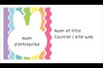 Lapin Bonbon Carte d'affaire - gabarit prédéfini. <br/>Utilisez notre logiciel Avery Design & Print Online pour personnaliser facilement la conception.