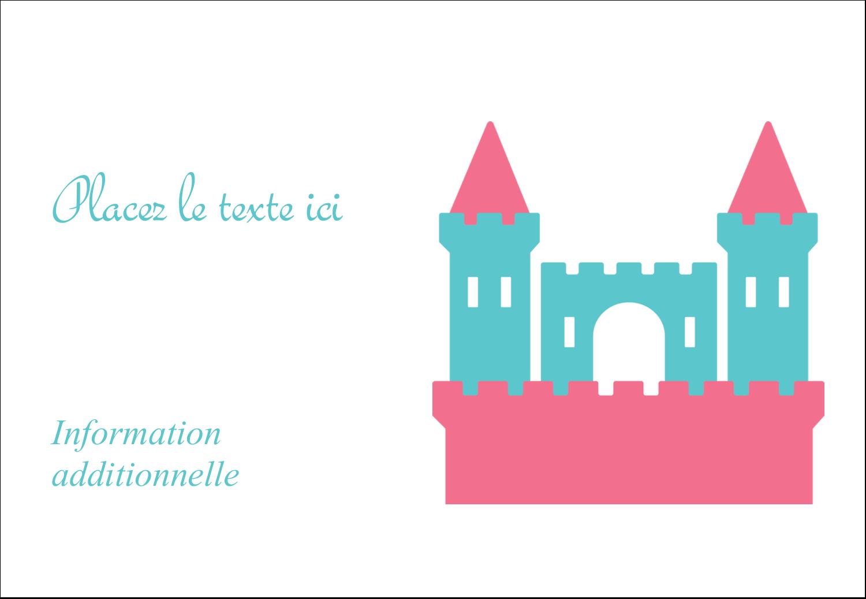 """1¼"""" Étiquettes à codage couleur - Château"""