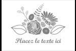 Bouquet de fleurs Étiquettes à codage couleur - gabarit prédéfini. <br/>Utilisez notre logiciel Avery Design & Print Online pour personnaliser facilement la conception.