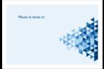 Angles bleus  Étiquettes à codage couleur - gabarit prédéfini. <br/>Utilisez notre logiciel Avery Design & Print Online pour personnaliser facilement la conception.