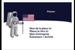 Astronaute Étiquettes à codage couleur - gabarit prédéfini. <br/>Utilisez notre logiciel Avery Design & Print Online pour personnaliser facilement la conception.