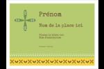 Fleurs vertes géométriques Badges - gabarit prédéfini. <br/>Utilisez notre logiciel Avery Design & Print Online pour personnaliser facilement la conception.
