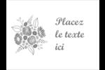 Bouquet de fleurs Badges - gabarit prédéfini. <br/>Utilisez notre logiciel Avery Design & Print Online pour personnaliser facilement la conception.