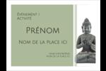 Bouddha Badges - gabarit prédéfini. <br/>Utilisez notre logiciel Avery Design & Print Online pour personnaliser facilement la conception.