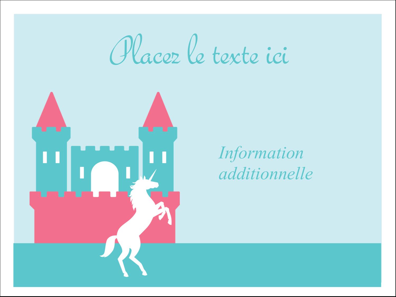"""3"""" x 4"""" Badges - Château"""