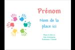 Mains enfantines Badges - gabarit prédéfini. <br/>Utilisez notre logiciel Avery Design & Print Online pour personnaliser facilement la conception.