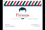 Salon de barbier Badges - gabarit prédéfini. <br/>Utilisez notre logiciel Avery Design & Print Online pour personnaliser facilement la conception.