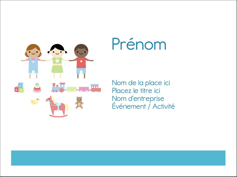 """3"""" x 4"""" Badges - Éducation et préscolaire"""