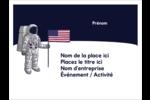 Astronaute Badges - gabarit prédéfini. <br/>Utilisez notre logiciel Avery Design & Print Online pour personnaliser facilement la conception.