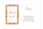 Galerie d'art Badges - gabarit prédéfini. <br/>Utilisez notre logiciel Avery Design & Print Online pour personnaliser facilement la conception.