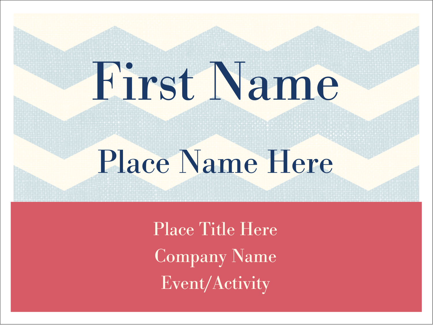 "3"" x 4"" Name Tags - Anniversary Still Do"