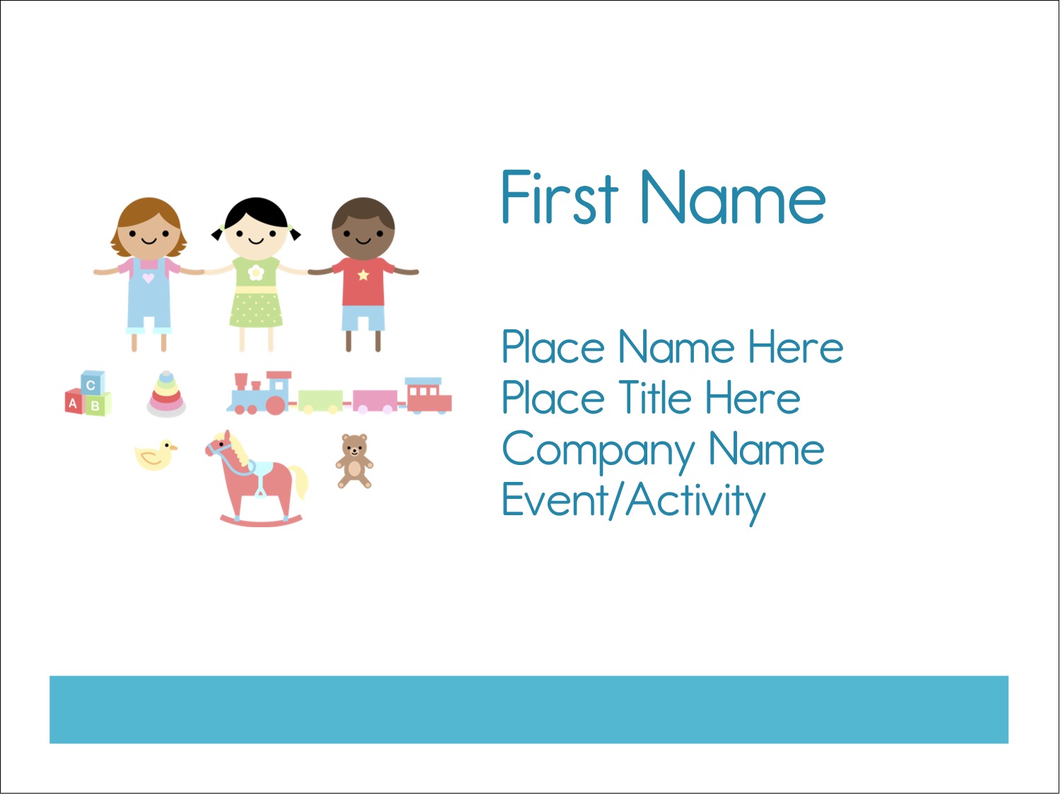 "3"" x 4"" Name Tags - Babysitting Education"
