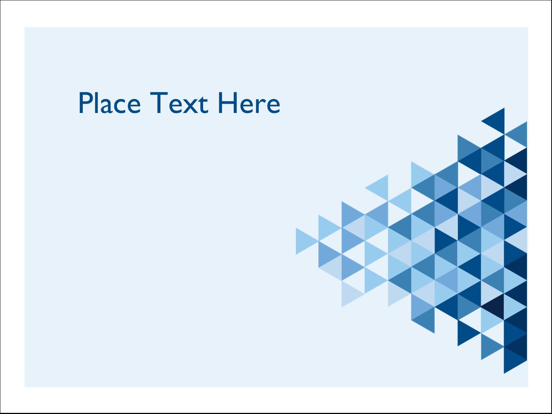 "3"" x 4"" Name Tags - Blue Angles"