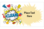 Get creative and customize your next project with pre-designed Cleaning Cloud templates.