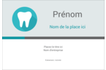 Dent Étiquettes à codage couleur - gabarit prédéfini. <br/>Utilisez notre logiciel Avery Design & Print Online pour personnaliser facilement la conception.